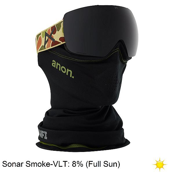 Anon MIG MFI Goggles, Duck Camo-Sonar Smoke, 600