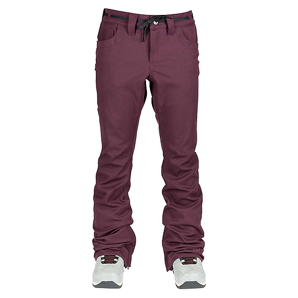 L1 Premium Goods Heartbreaker Twill Womens Snowboard Pants, Port, 600