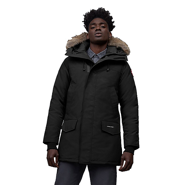 Canada Goose Langford Parka Mens Jacket, Black, 600