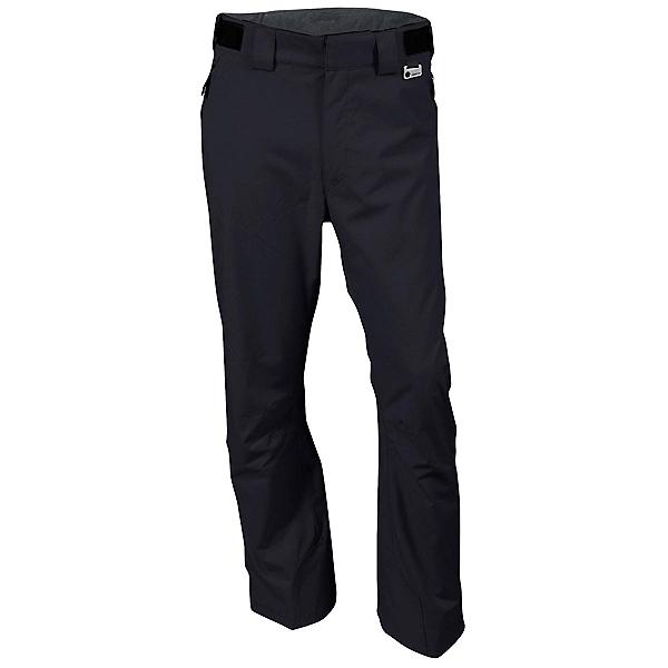 Karbon Silver II Trim - Short Mens Ski Pants, Black-Black, 600
