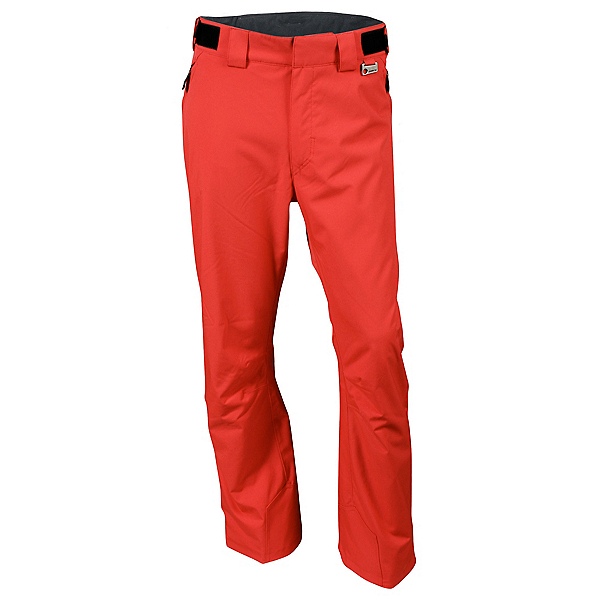 Karbon Silver II Trim - Short Mens Ski Pants, Red, 600