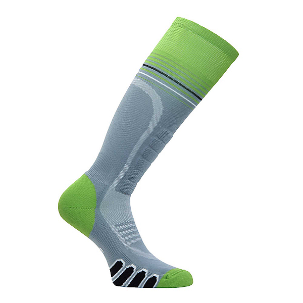 Euro Sock Silver Supreme Ski Socks, Grey-Acid, 600