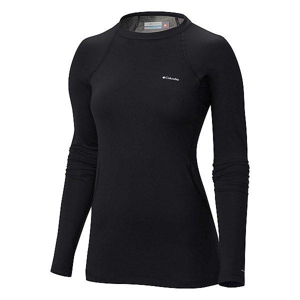 Columbia Midweight Stretch Long Sleeve Plus Womens Long Underwear Top, , 600
