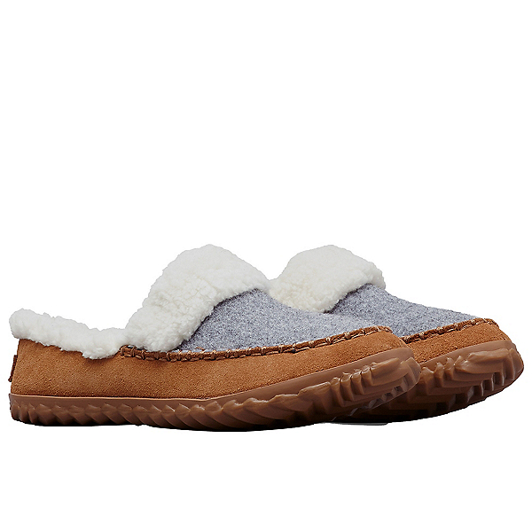 Sorel Out N About Slide Womens Slippers 2022, Light Grey Elk, 600