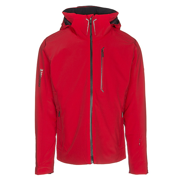 Descente Reign Mens Insulated Ski Jacket, Electric Red, 600