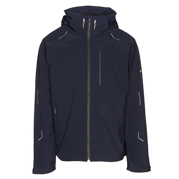 Descente Regal Mens Insulated Ski Jacket, Dark Night Arctic Storm, 600