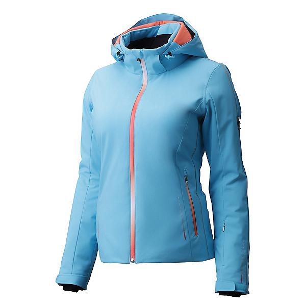 Descente Brynn Womens Insulated Ski Jacket, Cerulean Blue, 600