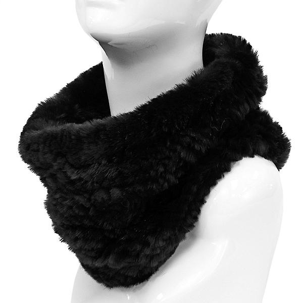 Mitchies Matchings Rabbit Knit Women's Neck Warmer, , 600