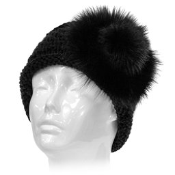 2faff295f24 Mitchies Matchings Knit with Fox Fur Headband