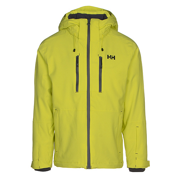 Helly Hansen Juniper 3.0 Mens Insulated Ski Jacket, Sweet Lime, 600