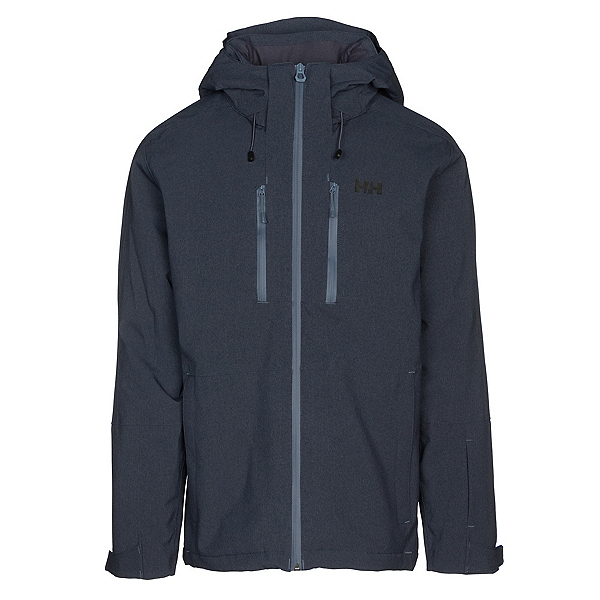 Helly Hansen Juniper 3.0 Mens Insulated Ski Jacket, Graphite Blue, 600