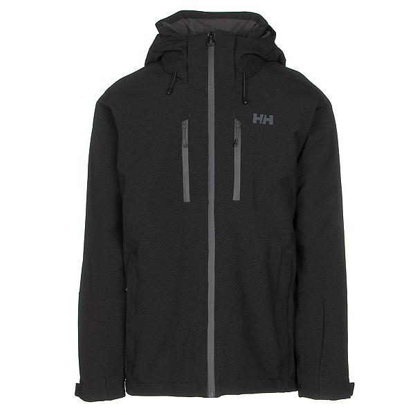 Helly Hansen Juniper 3.0 Mens Insulated Ski Jacket, Black Black, 600