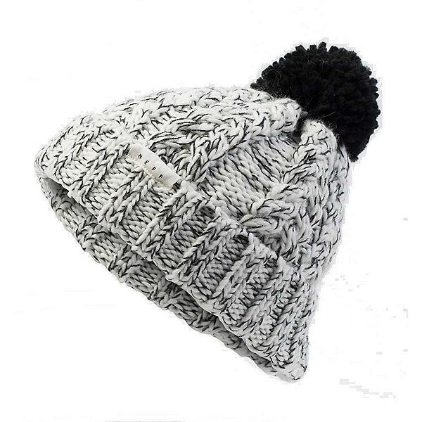 NEFF Kaycee Women's Beanie Hat, Black-White, 600