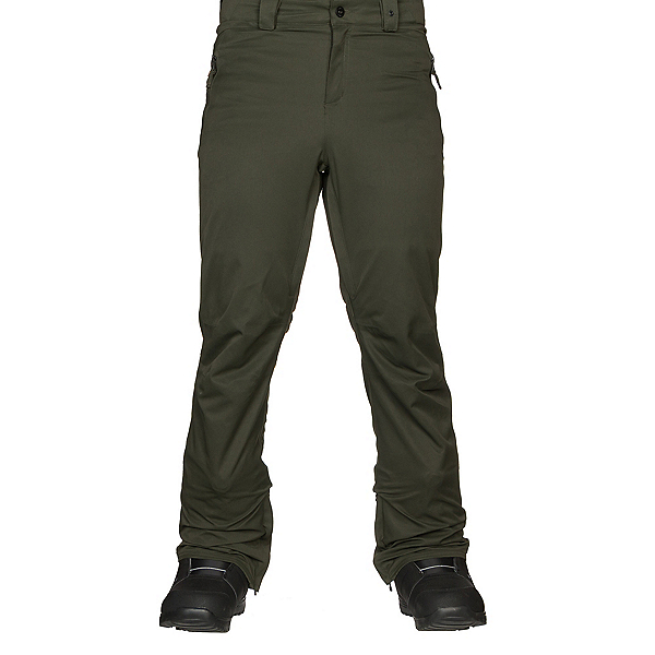 ThirtyTwo Wooderson Mens Snowboard Pants, Military, 600