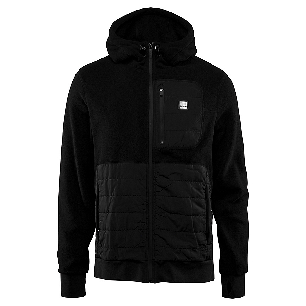 ThirtyTwo Filter Polar Fleece Mens Hoodie, Black, 600