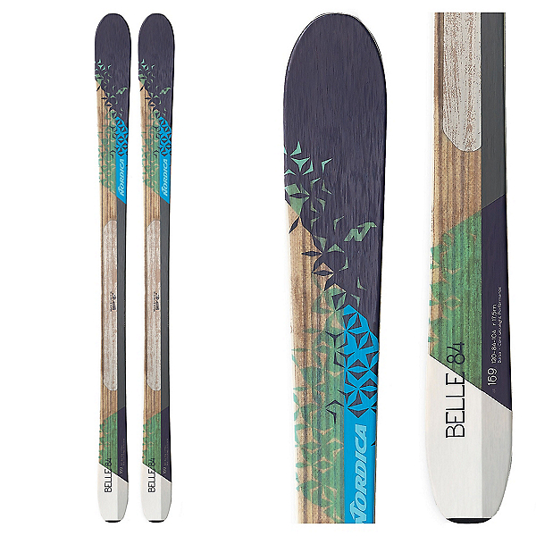 Nordica Belle 84 Womens Skis, , 600