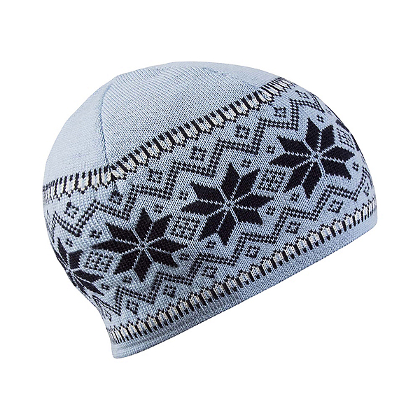 Dale Of Norway Garmisch Hat, Ice Blue-Navy-Off White, 600