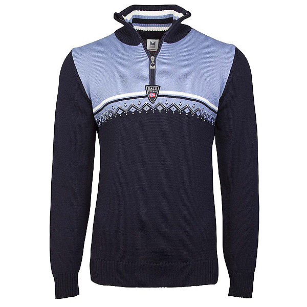 Dale Of Norway Lahti Masculine Mens Sweater, Navy-Blue Shadow-Off White, 600