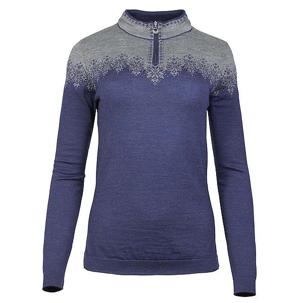 Dale Of Norway Snefrid Feminine Womens Sweater, Electric Storm-Smoke, 600