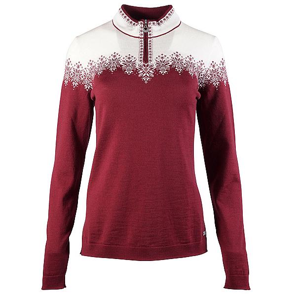 Dale Of Norway Snefrid Feminine Womens Sweater 2020, Ruby Melange-Off White, 600