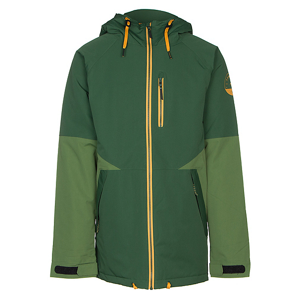 Armada Carson Mens Insulated Ski Jacket, Forest Green, 600