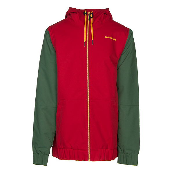 Armada Baxter Mens Insulated Ski Jacket, Red Chili, 600
