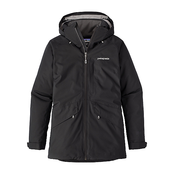 Patagonia Snowbelle Womens Insulated Ski Jacket, Black, 600