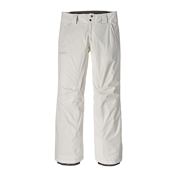Patagonia Snowbelle Insulated Womens Ski Pants, Birch White, 600