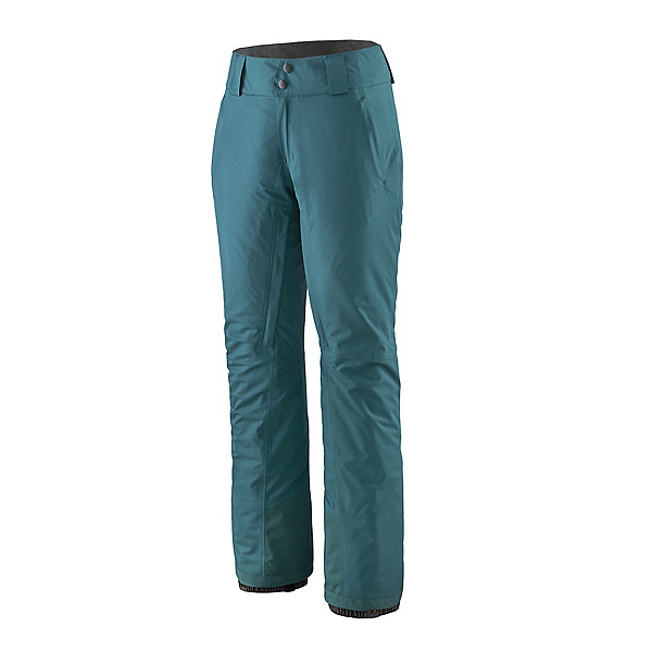 Patagonia Snowbelle Insulated Womens Ski Pants 2022, Abalone Blue, 600