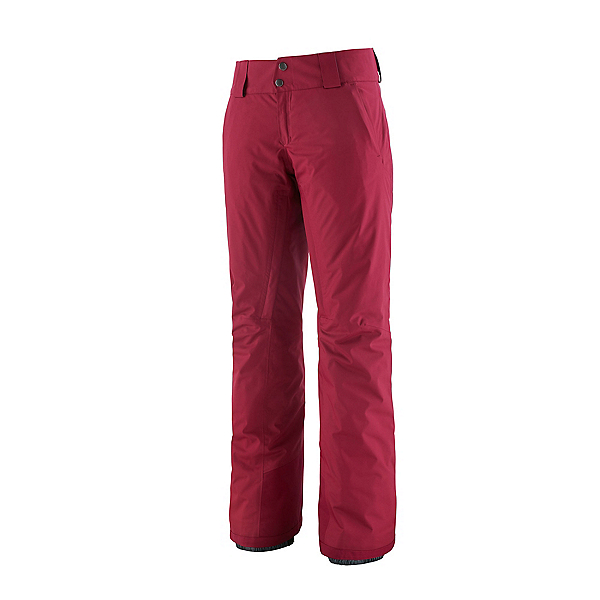 Patagonia Snowbelle Insulated Womens Ski Pants 2022, Roamer Red, 600