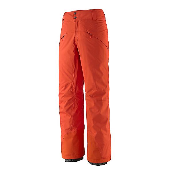 Patagonia Snowshot Mens Ski Pants 2022, Metric Orange, 600