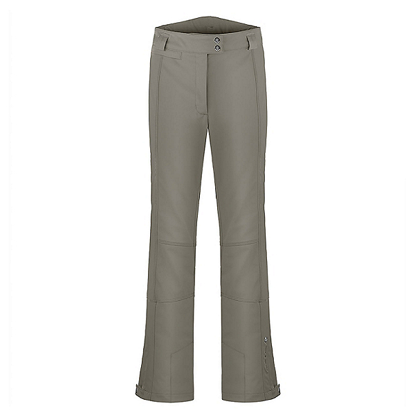 Poivre Blanc Stretch Womens Ski Pants, Khaki Grey, 600