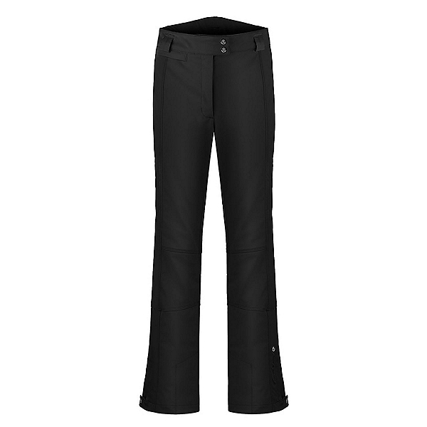 Poivre Blanc Stretch Womens Ski Pants, Black, 600