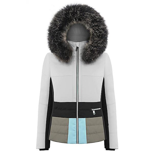 Poivre Blanc Faux Fur Womens Insulated Ski Jacket, , 600