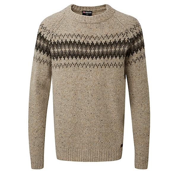 Sherpa Dumji Mens Sweater, Chai Tea, 600
