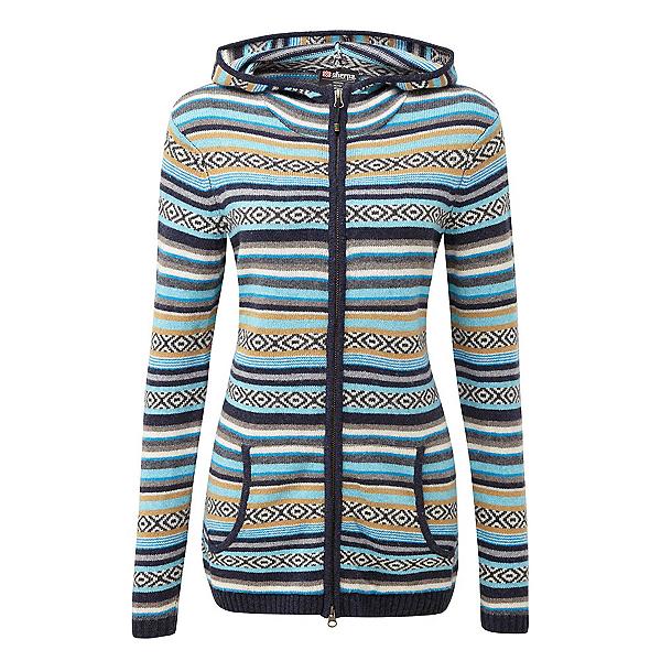 Sherpa Paro Hoodie Womens Sweater, Thaali, 600