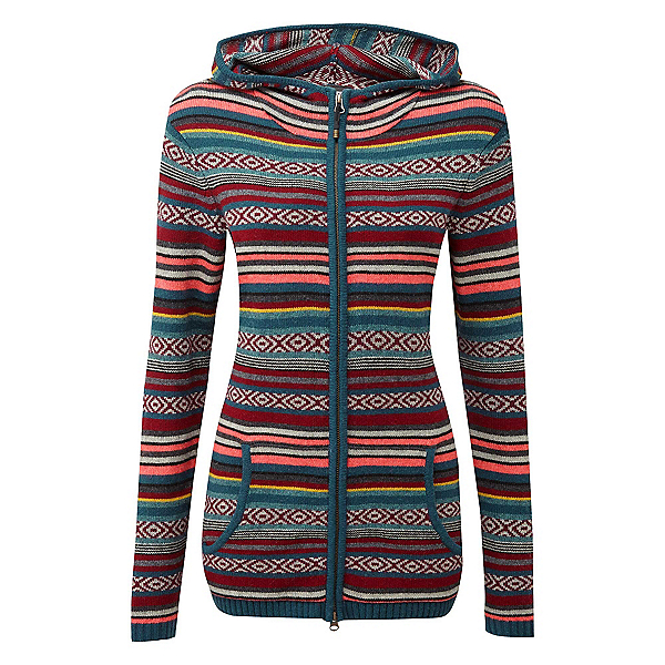 Sherpa Paro Hoodie Womens Sweater 2019, Rathna Green, 600