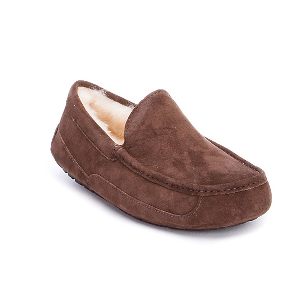 UGG Ascot Mens Slippers, Brown, 600