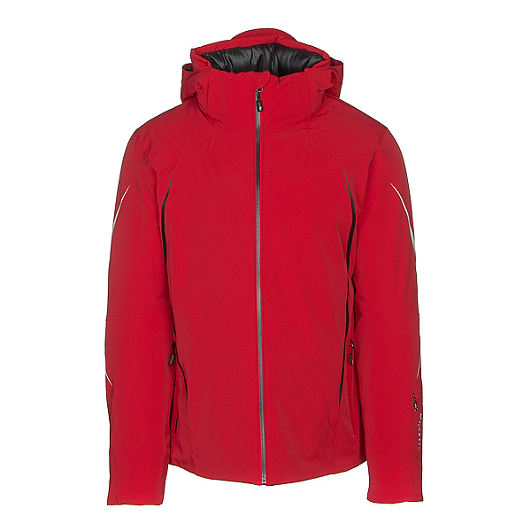 Rh+ Catedral Mens Insulated Ski Jacket, Red-Black-White, 600