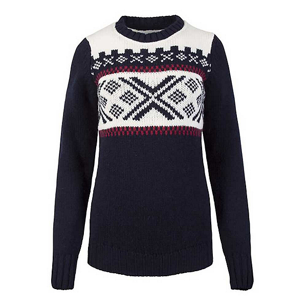 Dale Of Norway Skigard Feminine Womens Sweater, Navy-Raspberry-Off White, 600