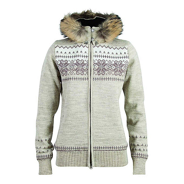 Dale Of Norway Floyen Feminine Womens Sweater, Mountainstone-Sand-Firewood-Of, 600