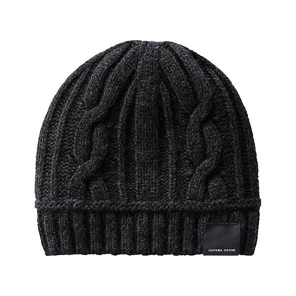 Canada Goose Cable Toque Womens Hat, Black, 600