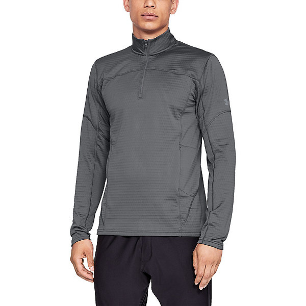 Under Armour Spectra 1/4 Zip Mens Mid Layer, Graphite-Graphite-Steel, 600