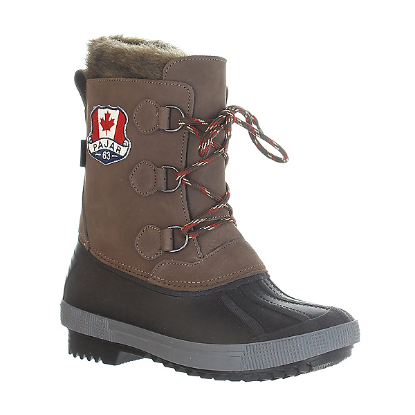 Pajar Cali Womens Boots, Brown-Black, 600