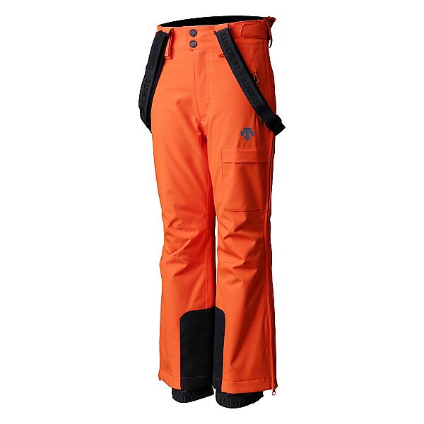 Descente Ryder Insulated Kids Ski Pants, Blaze Orange, 600