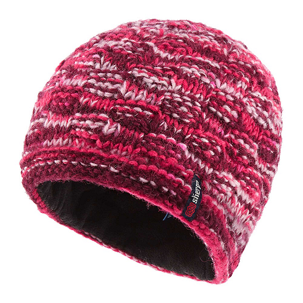 Sherpa Basket Weave Rimjhim Hat, Anaar, 600