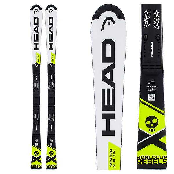 Head WC Rebels i.SL RD Team Junior Race Skis, , 600