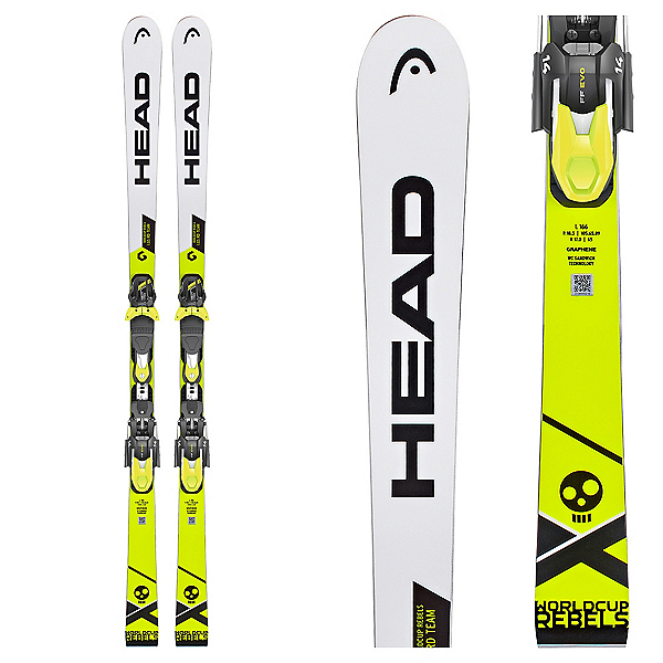 Head WC Rebels i.GS RD Team Junior Race Skis, , 600