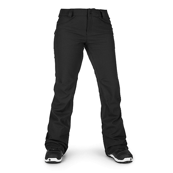 Volcom Species Stretch Womens Snowboard Pants, Black, 600
