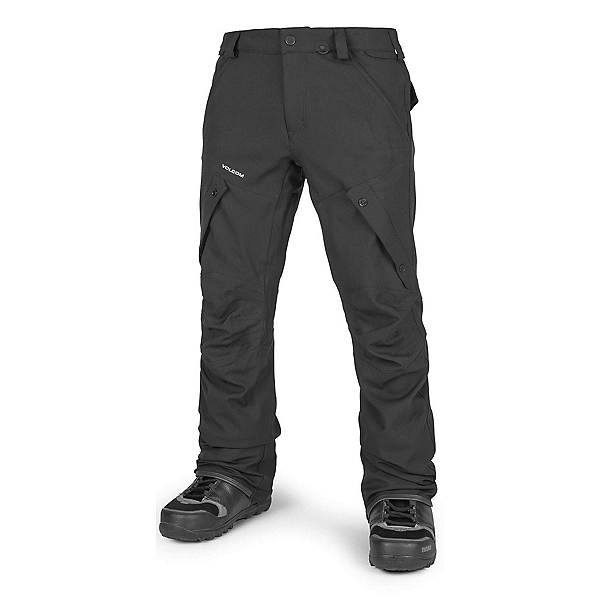 Volcom Articulated Mens Snowboard Pants, Black, 600